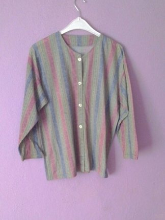 cizgili gömlek