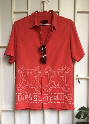 Vintage Diesel marka erkek gömlek